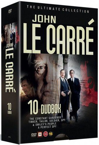 Image of   John Le Carre - The Ultimate Collection - DVD - Tv-serie