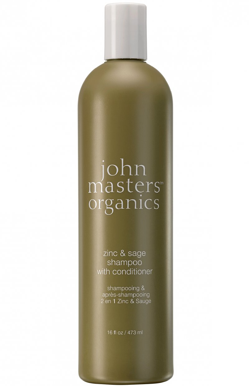 Image of   John Masters Organics Zinc And Sage Shampoo Med Conditioner - 236 Ml.