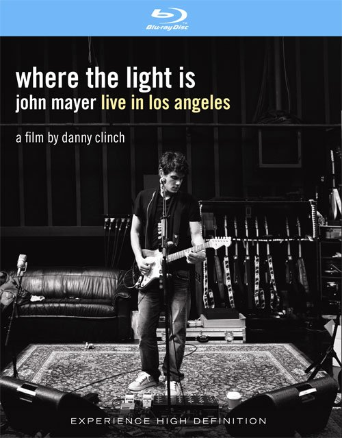 Image of   John Mayer - Where The Light Is - Blu-Ray