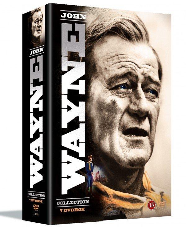 Image of   John Wayne - Filmsamling - DVD - Film
