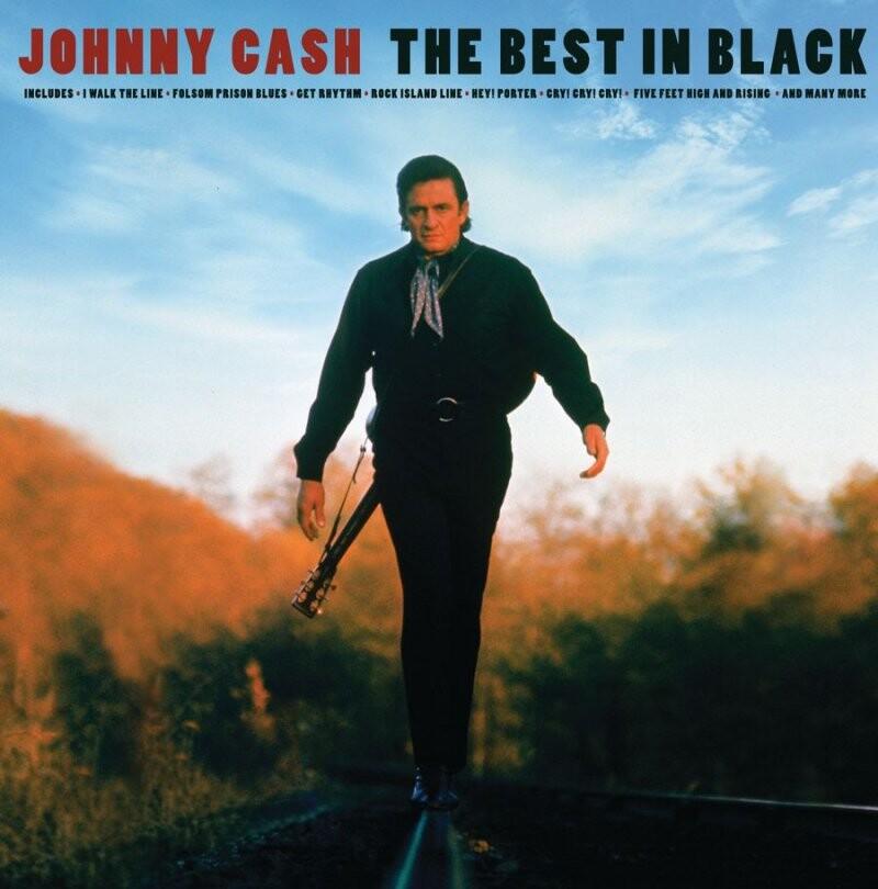 Image of   Johnny Cash - The Best In Black - Vinyl / LP