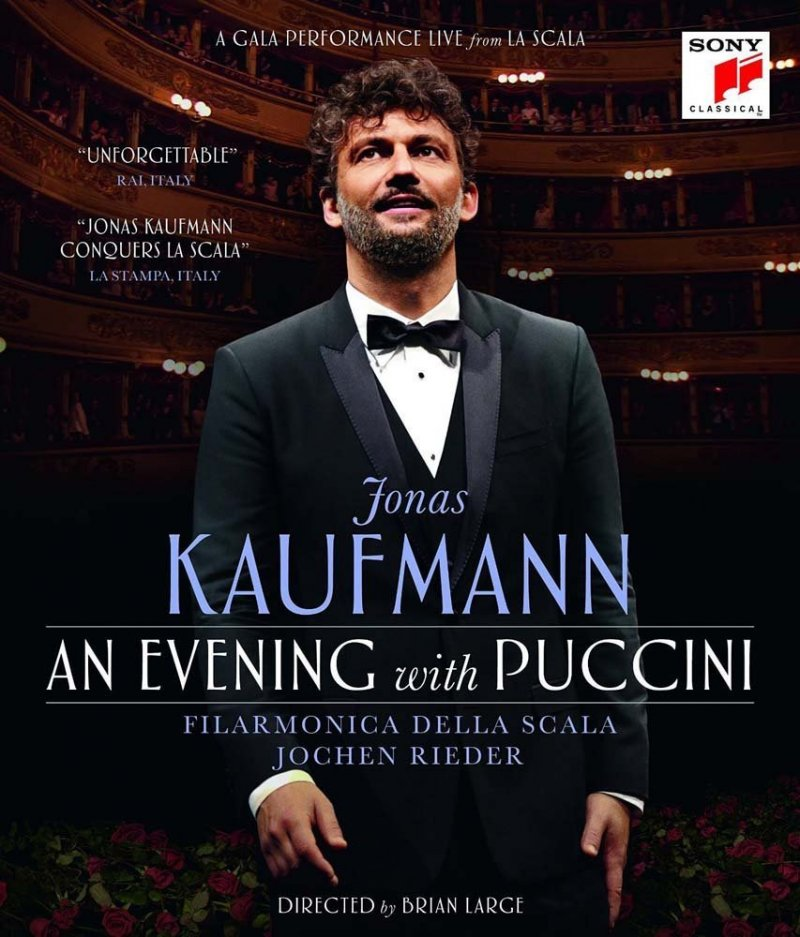 Billede af Jonas Kaufmann - An Evening With Puccini - Blu-Ray