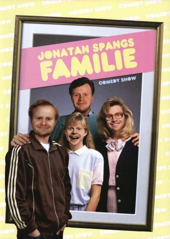 Image of   Jonatan Spangs Familie - DVD - Film