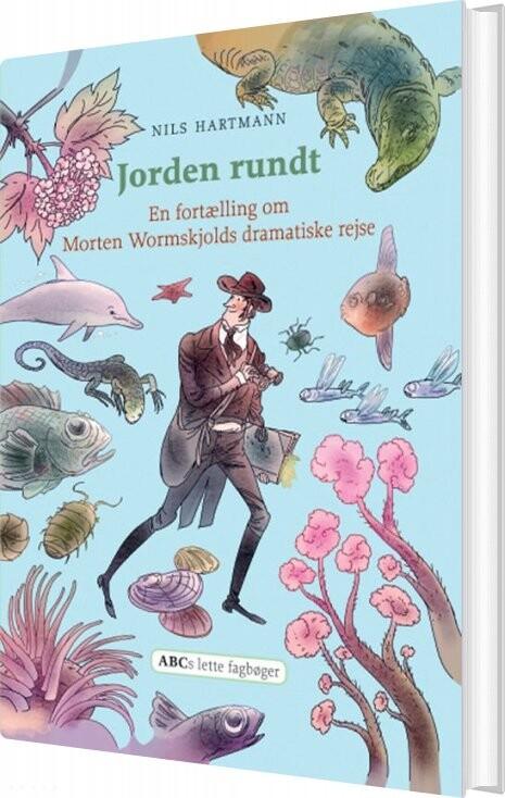 Billede af Jorden Rundt - Nils Hartmann - Bog