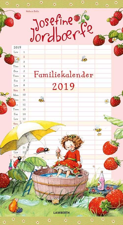 Image of   Josefine Jordbærfe - Familiekalender 2019