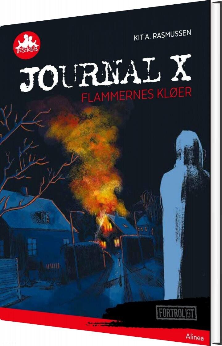 Image of   Journal X - Flammernes Kløer, Rød Læseklub - Kit A. Rasmussen - Bog