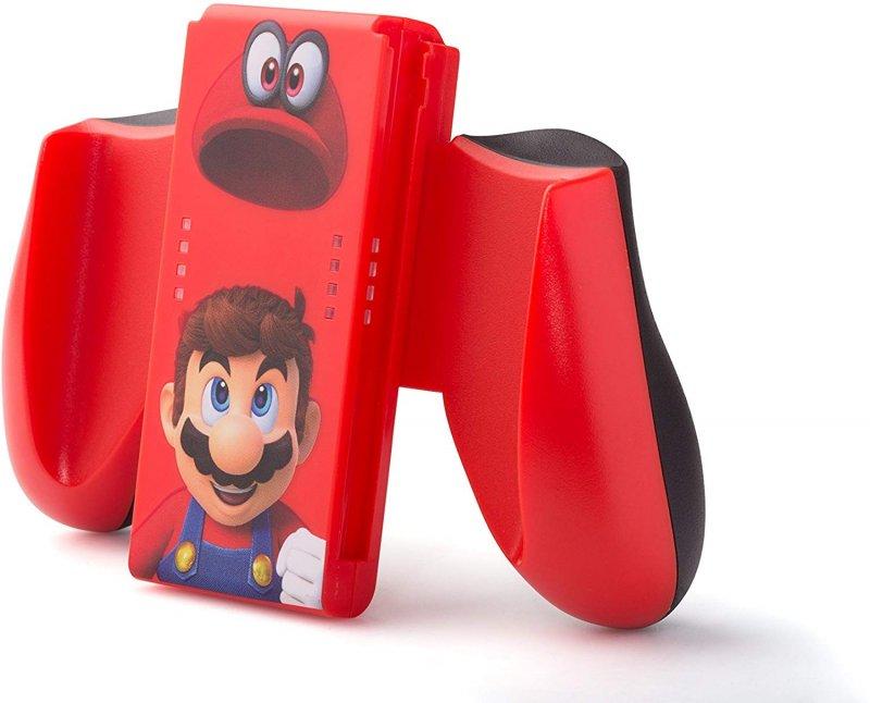 Image of   Nintendo Switch Comfort Grip Til Joy-con Controller - Mario Odyssey