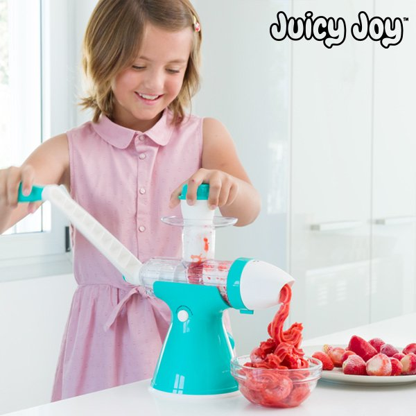 Image of   Juicy Joy - Juice Og Is Maskine Med Håndtag
