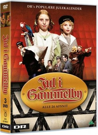 Jul I Gammelby - Dr Julekalender - DVD - Tv-serie