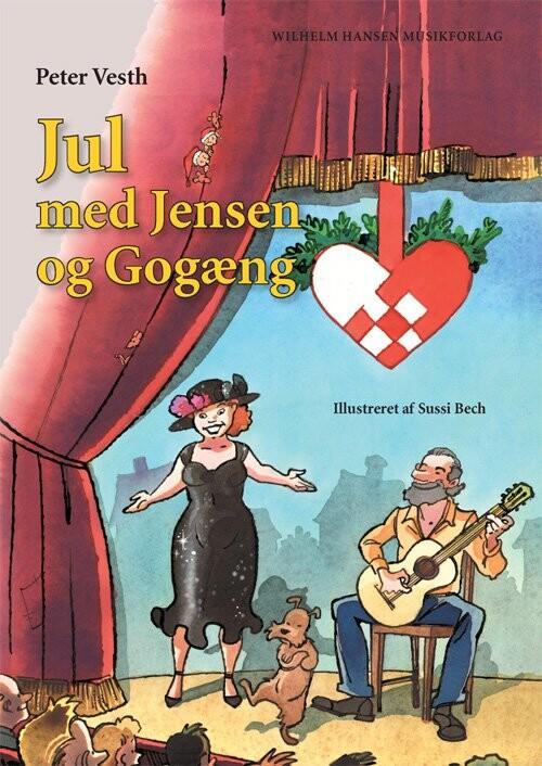 Billede af Jul Med Jensen Og Gogæng - Peter Vesth - Bog
