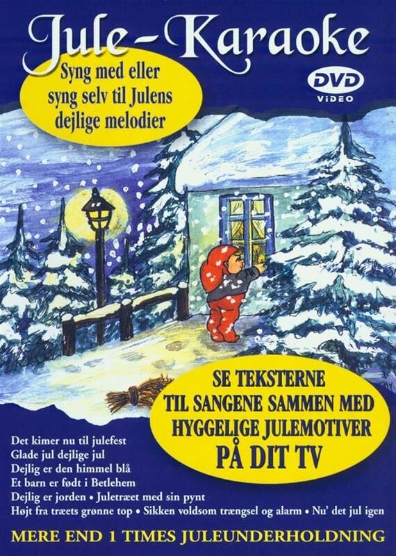 Image of   Jule-karaoke - Syng Med Eller Syng Selv - DVD - Film