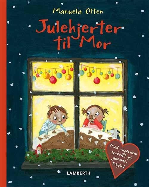 Julehjerter Til Mor – Manuela Olten – Bog