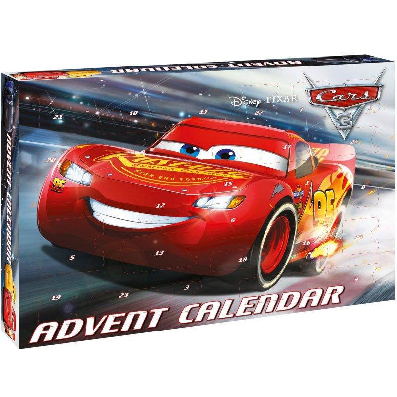 Image of   Disney Cars Julekalender / Pakkekalender