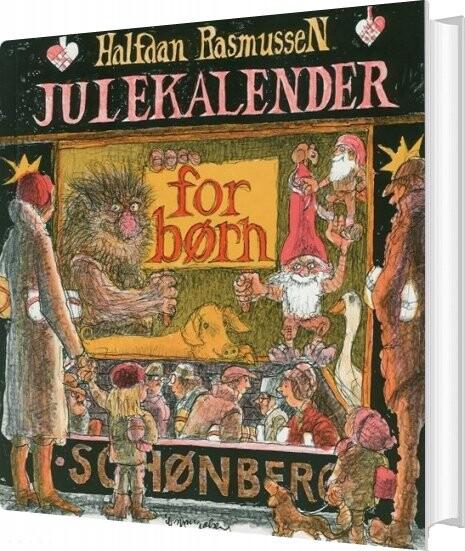 Billede af Julekalender For Børn - Halfdan Rasmussen - Bog