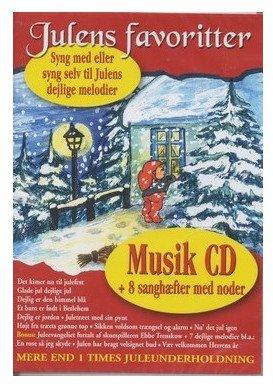 Image of   Julens Favoritter - Julens Mest Populære Sange Incl. Sanghæfter - CD
