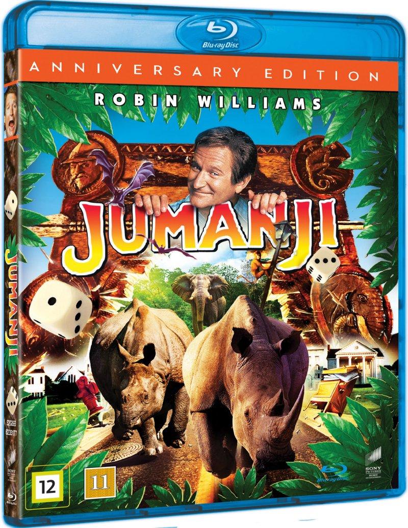 Image of   Jumanji 1 - 1995 - Blu-Ray