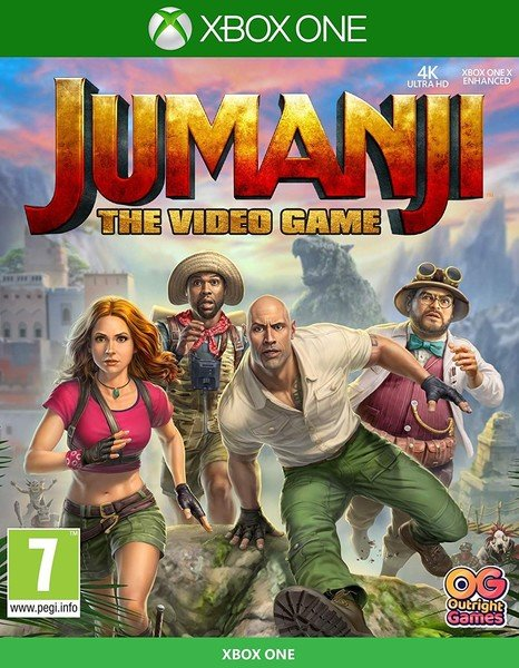 Image of   Jumanji: The Video Game - Xbox One