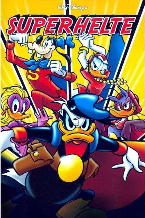 Image of   Jumbobog 425 - Superhelte! - Disney - Tegneserie