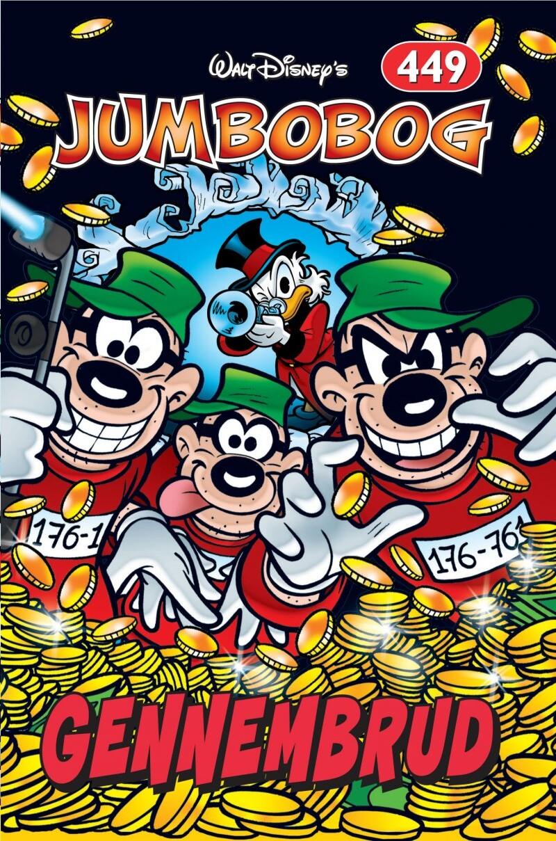 Image of   Jumbobog 449 - Gennembrud - Disney - Tegneserie
