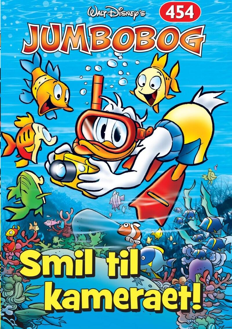 Image of   Jumbobog 454 - Smil Til Kameraet - Disney - Tegneserie