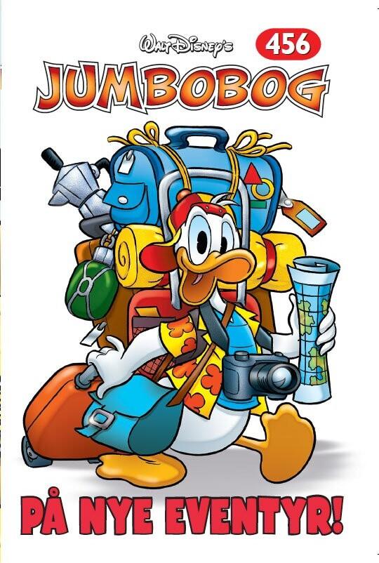 Image of   Jumbobog 456 - På Nye Eventyr - Disney - Tegneserie