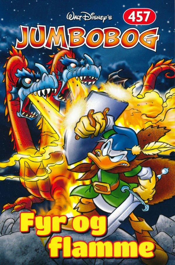 Image of   Jumbobog 457 - Fyr Og Flamme - Disney - Tegneserie
