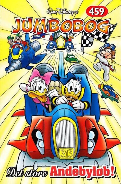 Image of   Jumbobog 459 - Det Store Andebyløb - Disney - Tegneserie