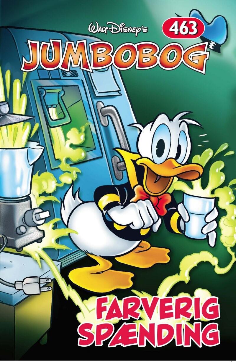 Billede af Jumbobog 463 - Disney - Tegneserie
