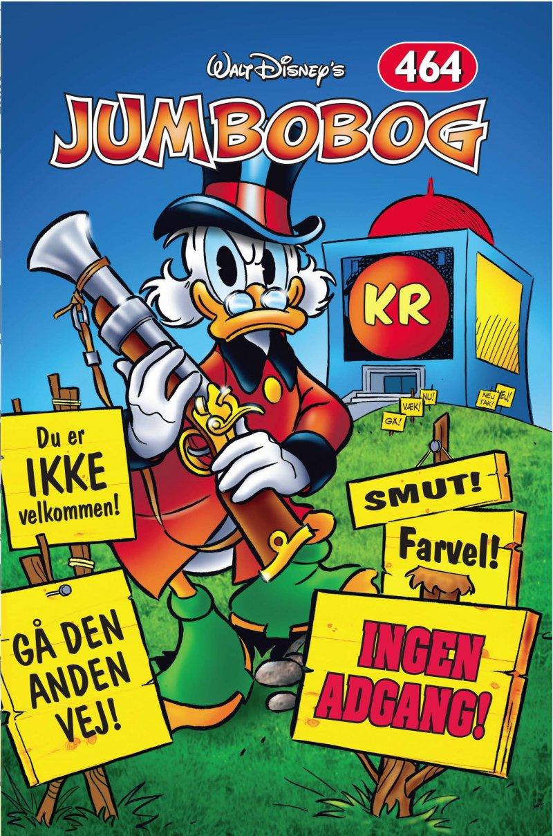 Image of   Jumbobog 464 - Ingen Adgang - Disney - Tegneserie
