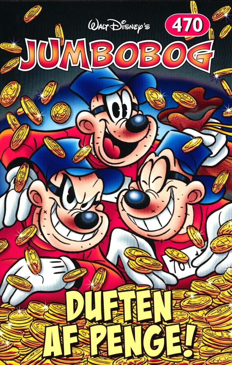 Image of   Jumbobog 470 - Duften Af Penge - Disney - Tegneserie
