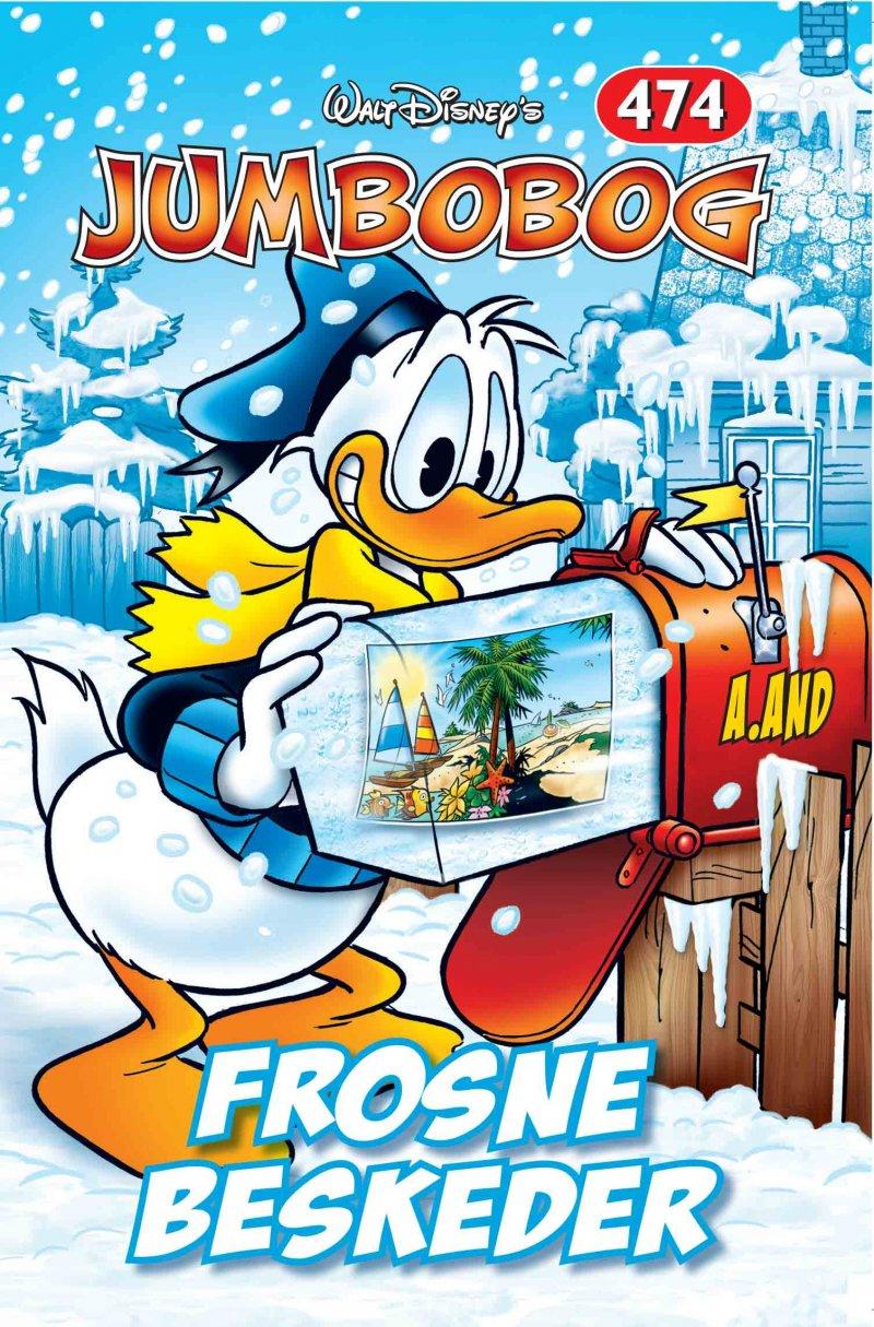 Image of   Jumbobog 474 - Frosne Beskeder - Disney - Tegneserie