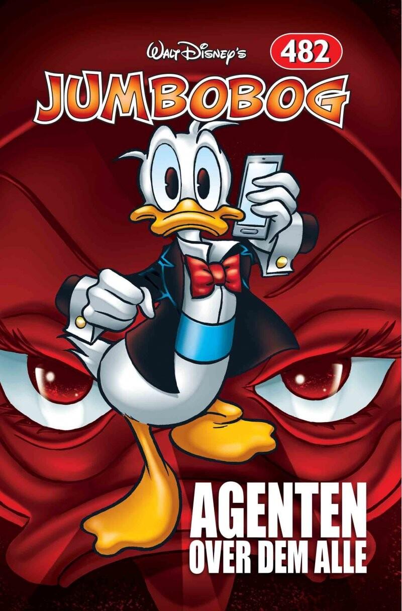 Image of   Jumbobog 482 - Agenten Over Dem Alle - Disney - Tegneserie