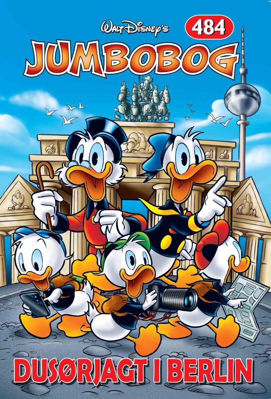 Image of   Jumbobog 484 - Dusørjagt I Berlin - Disney - Tegneserie