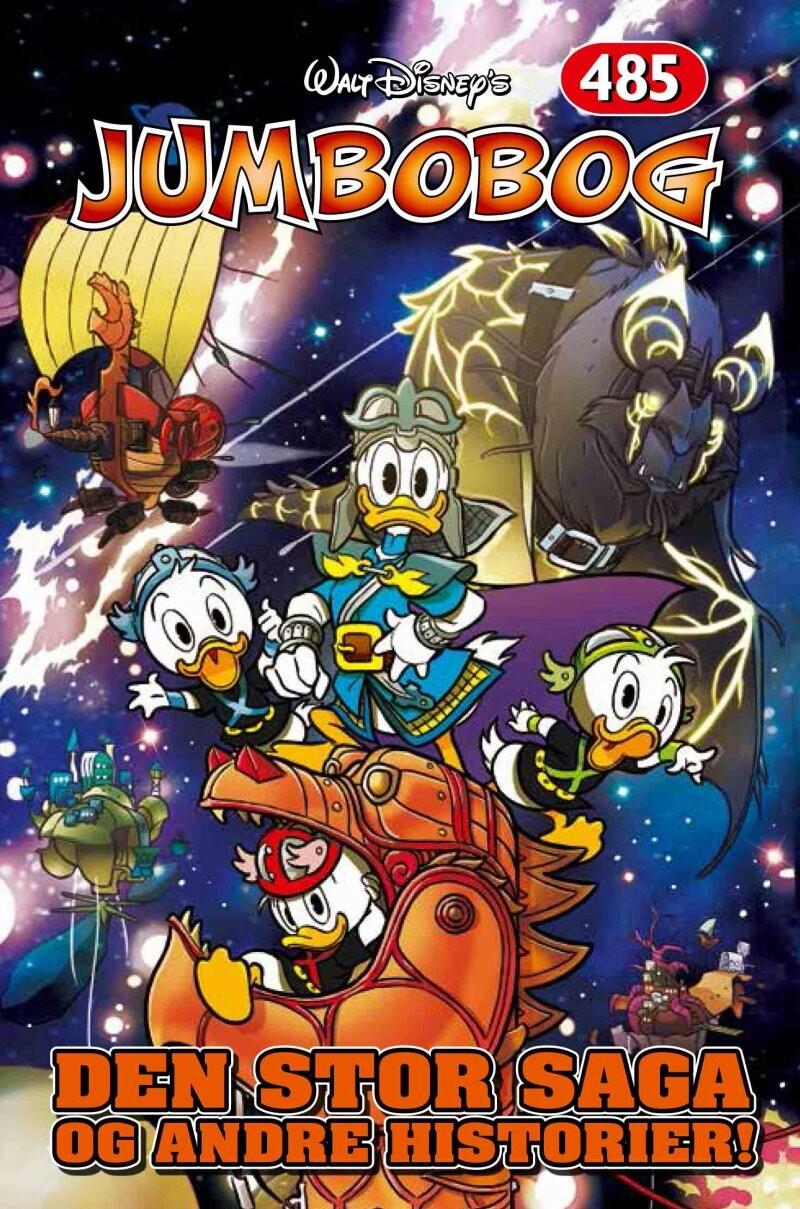 Image of   Jumbobog 485 - Den Store Saga Og Andre Historier - Disney - Tegneserie