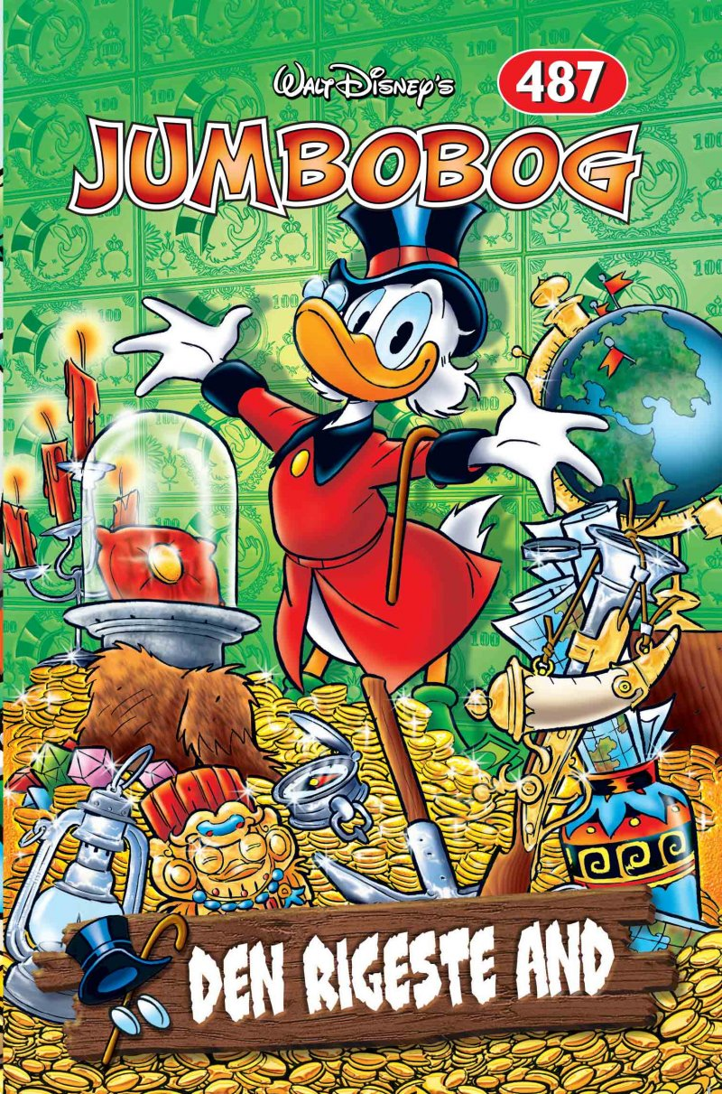 Image of   Jumbobog 487 - Den Rigeste And - Disney - Tegneserie
