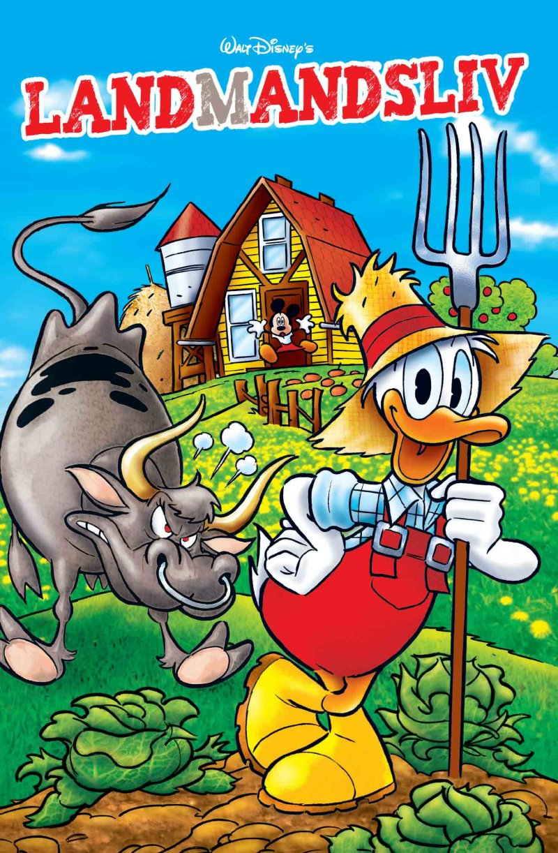 Image of   Jumbobog Tema - Landmandslivet - Disney - Tegneserie