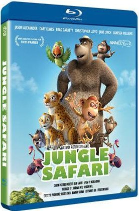 Image of   Jungle Safari - Blu-Ray