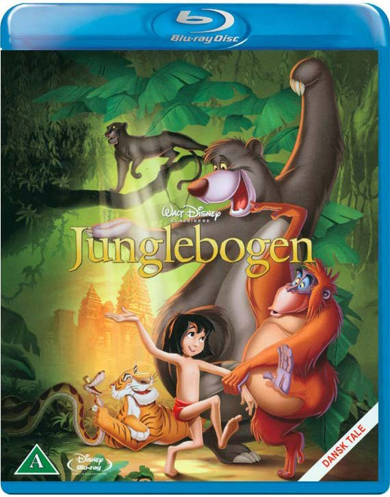 Image of   Junglebogen / The Jungle Book - Disney - Blu-Ray