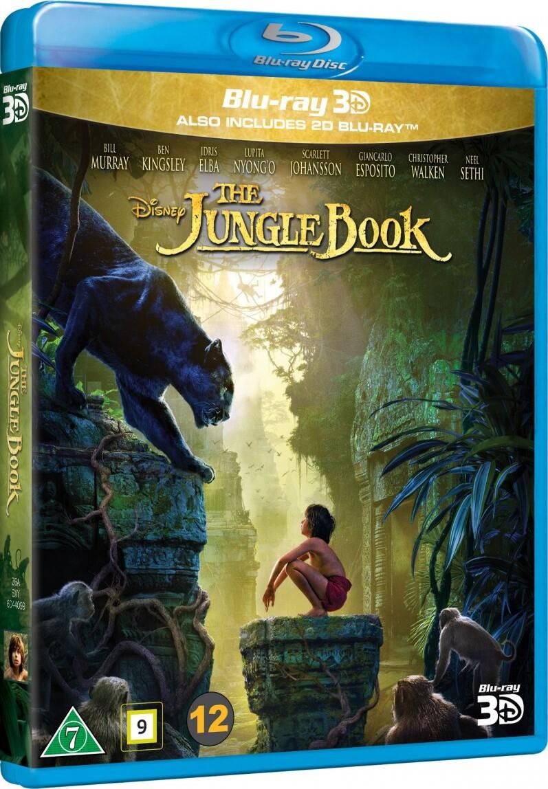 Image of   Junglebogen - Spillefilm 2016 - 3D Blu-Ray