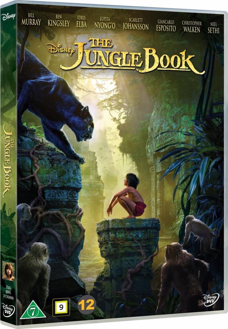 Billede af Junglebogen Spillefilm 2016 - Disney - DVD - Film