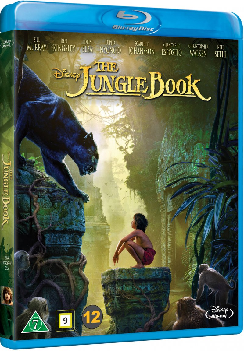 Image of   Junglebogen Spillefilm 2016 - Disney - Blu-Ray