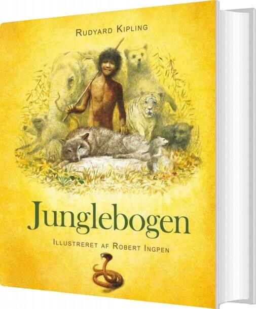 Image of   Robert Ingpen: Junglebogen - Rudyard Kipling - Bog