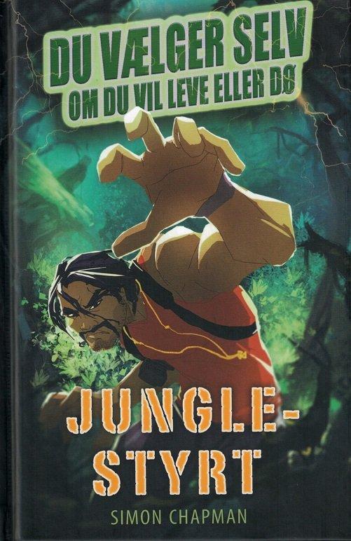 Image of   Junglestyrt - Simon Chapman - Bog