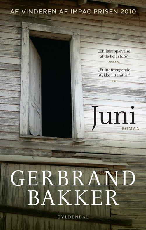 Image of   Juni - Gerbrand Bakker - Bog