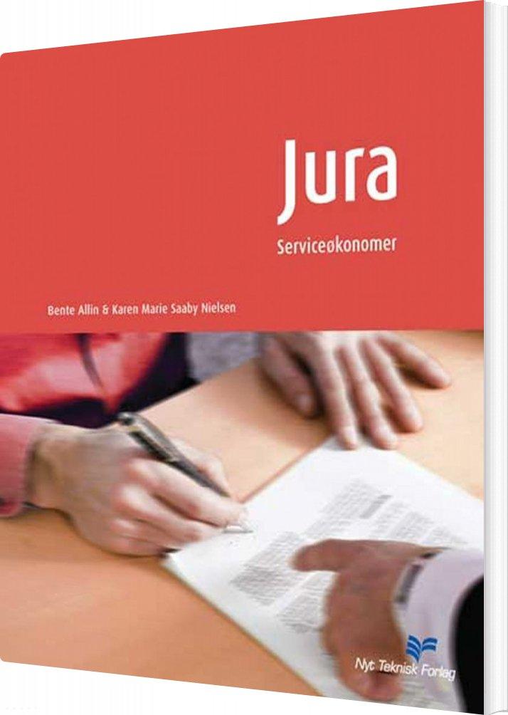 Image of   Jura - Serviceøkonom - Karen Marie Saaby Nielsen - Bog