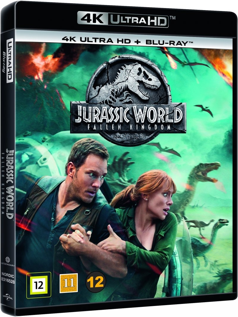 Image of   Jurassic World 2 - Fallen Kingdom - 2018 - 4K Blu-Ray