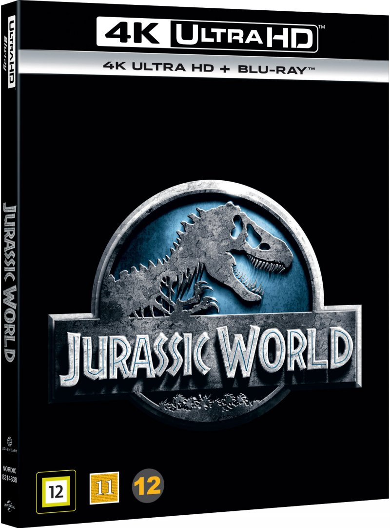 Image of   Jurassic World / Jurassic Park 4 - 4K Blu-Ray