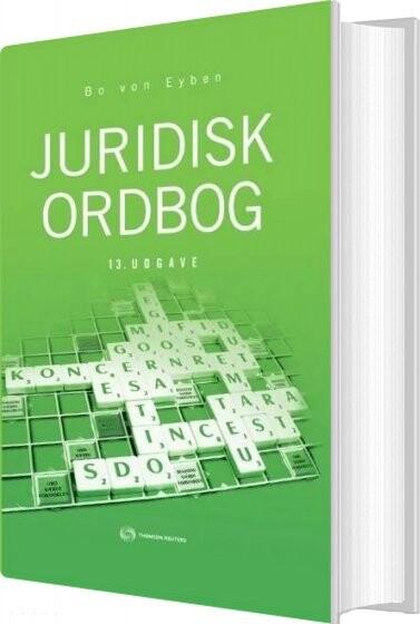 Juridisk Ordbog - Bo Von Eyben - Bog