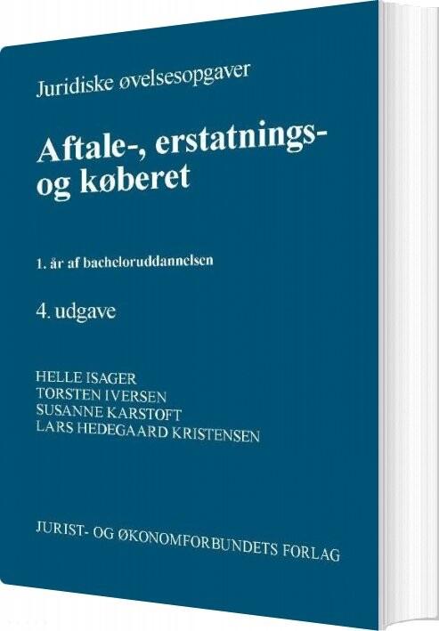 Image of   Juridiske øvelsesopgaver Aftale - Torben Iversen - Bog