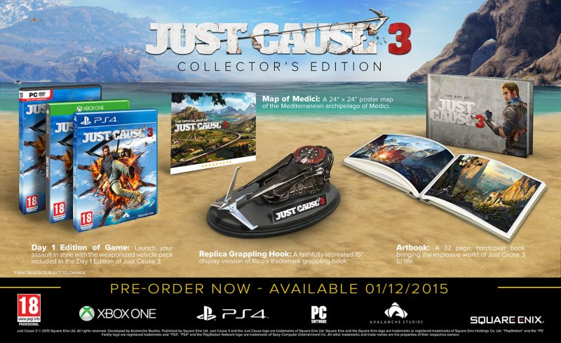 Image of   Just Cause 3 - Collectors Edition - Xbox One
